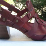 Sandale dama piele naturala TIMBERLAND nr.38 originale