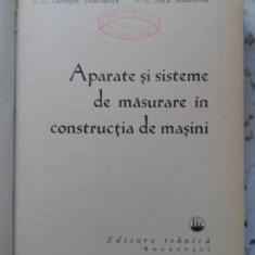 Aparate Si Sisteme De Masurare In Constructii De Masini - C. Micu P. Dodoc Gh. Diaconescu A.m. Manolescu, 399628