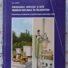 Produsele Apicole Si Alte Remedii Naturale In Reumatism - D.c.jarvis, 399577 - Carte Medicina alternativa
