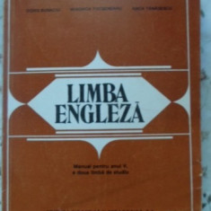 Limba Engleza Manual Pentru Anul V A Doua Limba De Studiu - Doris Bunaciu Veronica Focsaneanu Anca Tanasescu, 399590 - Carte in engleza