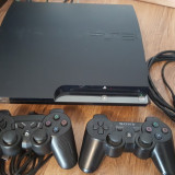 Consola Playstation 3 SONY modat PS3 slim + 17 jocuri ps 3