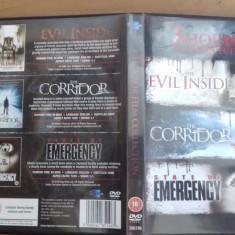 The EvilInside - The Corridor - State of emergency - DVD [A, B] - Film SF, Engleza