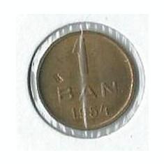 244- 1 Ban 1954 Eroare - Moneda Romania