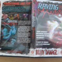 Raving maniacs - DVD [B] - Film SF, Engleza