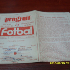 Program Dinamo - U Craiova - Program meci