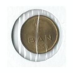 246- 1 Ban 1954 - Moneda Romania