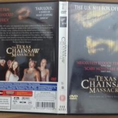 Texas Chainsaw massacre -  DVD [A], Engleza
