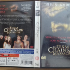Texas Chainsaw massacre - DVD [A] - Film SF, Engleza