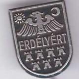 Insigna Ungaria (aprox.1930) - Erdelyert - Pentru Ardeal - Insigna Barbati