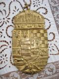 blazon stema ungariei bronz
