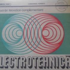 Lucrari Teoretice Complementare Electrotehnica - Mircea Popa, Constantiu Popescu, 399581 - Carti Electrotehnica