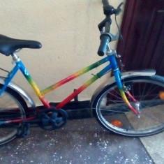 Bicicleta DIN CU SEMNATURA - Bicicleta de oras Diamondback, 27.5 inch, 24 inch, Numar viteze: 7