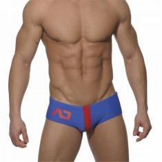 Slipi de baie pentru bărbați - ADDICTED marimea XL - Slip barbati, Culoare: Albastru, Bleu