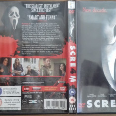 SCREAM 4 - DVD [B] - Film SF, Engleza