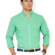 Camasa Ralph Lauren XL-XXL - Camasa barbati Ralph Lauren, Marime: 43, Culoare: Verde, Maneca lunga