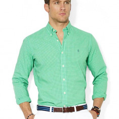 Camasa Ralph Lauren M si XL-XXL - Camasa barbati Ralph Lauren, Marime: M, Culoare: Verde, Maneca lunga