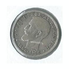 250- 1 Leu 1906 - Moneda Romania