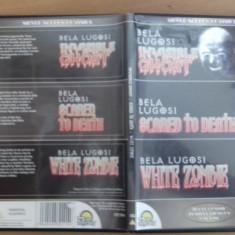 Bela Lugosi - Invisible Ghost - Scared to death - White Zombie -  DVD [B], Engleza