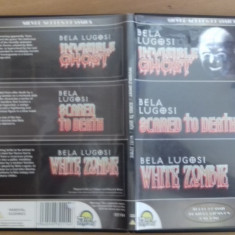 Bela Lugosi - Invisible Ghost - Scared to death - White Zombie - DVD [B] - Film SF, Engleza
