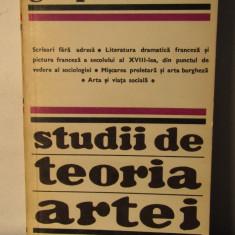 PLEHANOV -STUDII DE TEORIA ARTEI - Studiu literar