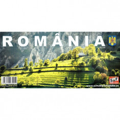 Schubert & Franzke Harta Romaniei / Romania