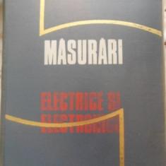 Masurari Electrice Si Electronice - E. Nicolau M. Belis, 399575 - Carti Electrotehnica