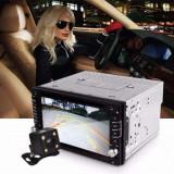 Navi Auto Gps Dvd 2DIN Universala Touchscreen Nou + Cadou Card GPS +Camera