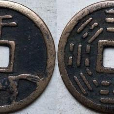 Moneda veche China - 11, Asia, An: 1900, Bronz
