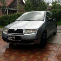 Skoda Fabia 2002, 1.4 benzina, 138000 km, 1397 cmc