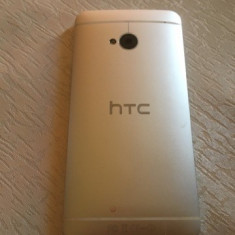 Telefon HTC ONE M7 - Telefon mobil HTC One, Argintiu, 32GB, Vodafone, Single SIM