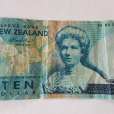 NOUA ZEELANDA 10 DOLLARS