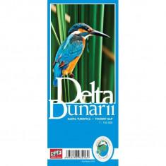 Schubert & Franzke Harta Delta Dunarii - Harta Turistica