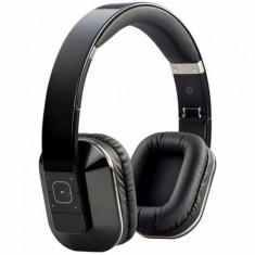 Casti Microlab T1 Dual Input (Wireless/Wired) Bluetooth Black, Casti Over Ear