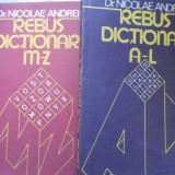 Rebus Dictionar Vol.1-2 A-z - Nicolae Andrei, 399629 - Carte sport