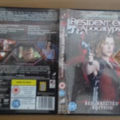 Resident Evil Apocalypse - DVD [A], Engleza