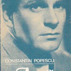 CONSTANTIN POPESCU - ACTORUL SI MASTILE SALE ( LAURENCE OLIVIER SI MASTILE SALE) - Carte Cinematografie