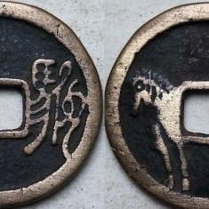 Moneda veche China - 10, Asia, An: 1900, Bronz