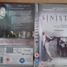 SINISTER- DVD [C] - Film SF, Engleza