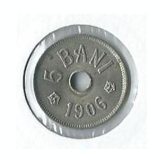 219- 5 Bani 1906 - Moneda Romania