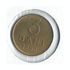249- 3 Bani 1953 UNC!! - Moneda Romania