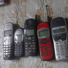 Lot 5 vechi telefoane Simens Nokia, Etc - Metal/Fonta