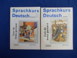 SPRACHKURS DEUTSCH * CURS DE LIMBA GERMANA PT. ADULTI ( VOL.1 + VOL.2 ) - 1994