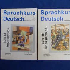 SPRACHKURS DEUTSCH * CURS DE LIMBA GERMANA PT. ADULTI ( VOL.1 + VOL.2 ) - 1994 - Curs Limba Germana