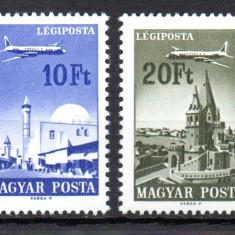 UNGARIA 1967, Aviatie, MNH, serie neuzata - Timbre straine, Nestampilat