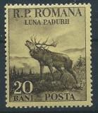 DEPARAIATE-1954 Romania,LP 360-Luna Padurii.,VAL.20 BANI -MNH, Nestampilat