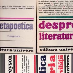 Despre literatura 10 carti - Studiu literar