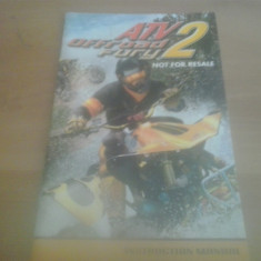Manual - ATV Off Road Fury 2 - PS2