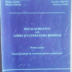 Limba și Literatura Română. Examenul de Bacalaureat. - Teste Bacalaureat Altele
