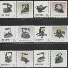 Romania 2012, Fiare de calcat II, LP 1951 c, serie cu 6 vignete diferite MNH - Timbre Romania, Istorie, Nestampilat