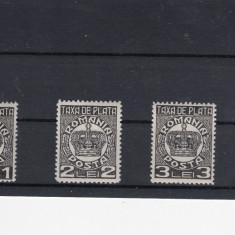 ROMANIA 1924, TAXA DE PLATA SERIE MNH - Timbre Romania, Nestampilat